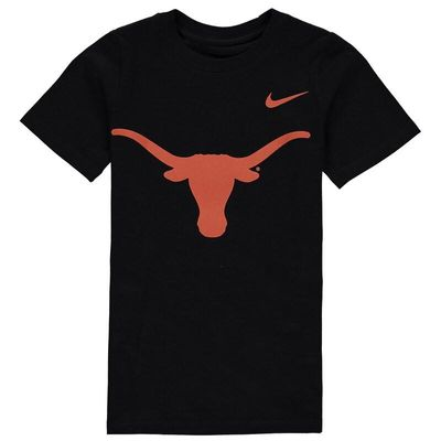 Texas Longhorns Nike Preschool Logo T-Shirt - Black