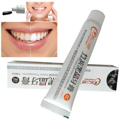 Hot Sale 100% Natural High Quality Tooth Paste 50g Bamboo Charcoal Black Toothpaste Teeth Whitening Cleaning Hygiene Oral Care