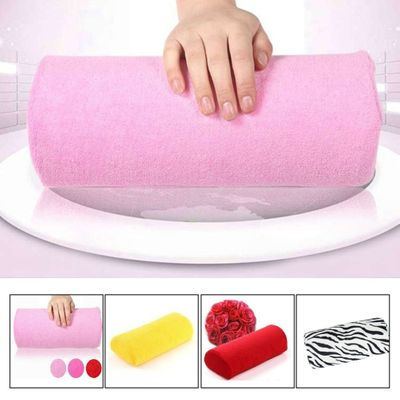 Manicure Pillow Hand Rest Holder Pillows Cushion Pillow Nail Arm Towel Tool Armrest Nail Art Manicure Equipment