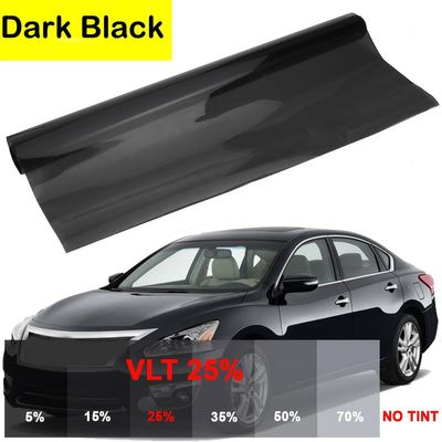 0.76*6M Car Window Heat Insulation Film 15%-25% Light Transmittance Glass Explosion-Proof Shading Solar Protector Car Cover
