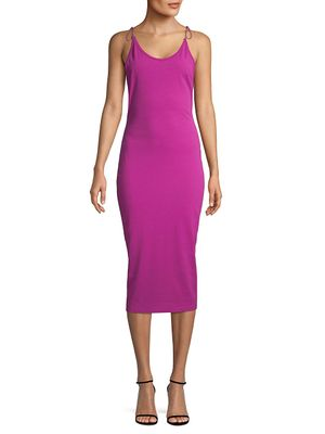 alexanderwang.t Scoopneck Cotton Sheath Dress