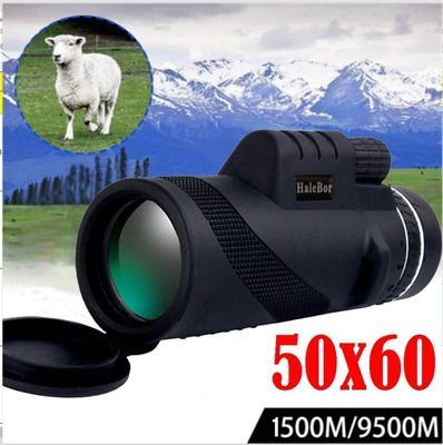 New High Clarity Telescope 50X60 monocular Hd 9500M High Power For Outdoor Hunting Optical Night Vision monocular Fixed Zoom f3