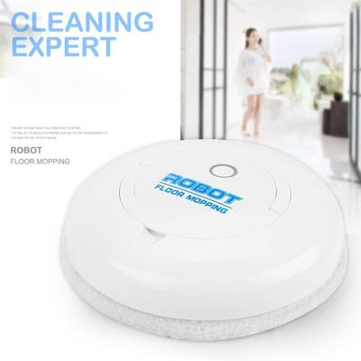 Intelligent Robot Wipe Cleaning Robot Cleaning Household Appliances Black Or White Two-color Cleaning Machine Gifts