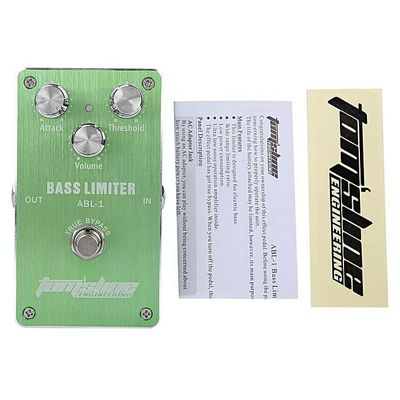 Mini Space Portable Limiter Tone Control Electric Pedal Bass Effector Pedals