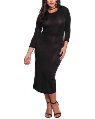 Prered Plus Midi Dress