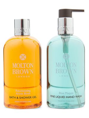 Molton Brown 2-Piece Arctic Birch & Blue Marquies Hand & Body Bath Shower Gel Set