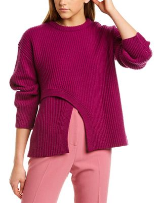 Derek Lam Criss-Cross Cashmere Sweater