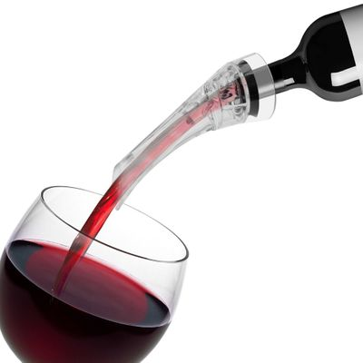 Magic Wine Decanter Red Wine Aerating Pourer Spout Decanter Wine Aerator Quick Aerating Pouring Tool Pump Portable Filter