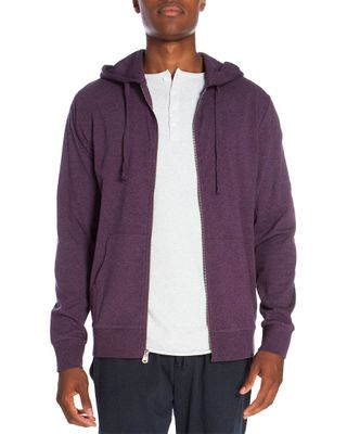 Unsimply Stitched Light Weight Zip Up Hoodie