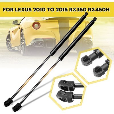 2 Pcs Car Front Hood Car Supports Tailgate Shock Trunk Boot Gas Bonnet Struts Springs Lifter for Lexus 2010-2015 RX350 RX450h