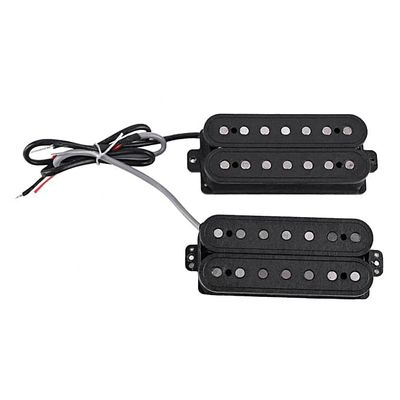 Seven String Electric Guitar Dual Pick-up Pickup Set Coiled Accessories