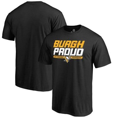 Pittsburgh Penguins Hometown Collection I T-Shirt - Black
