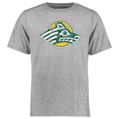 Alaska Anchorage Seawolves Big & Tall Classic Primary T-Shirt - Ash