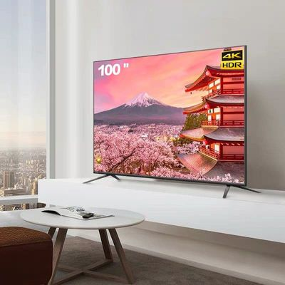 100'' inch wifi 4k TV led Television TV