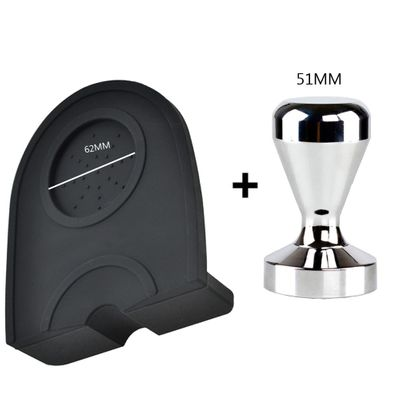 Espresso 51/53/58MM Coffee Tamper Mat High Quality Silicone Rubber Tampering Corner Mat Coffee Maker