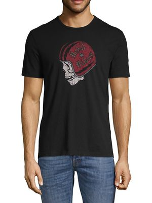 John Varvatos Star U.S.A. Skull Graphic Cotton Tee