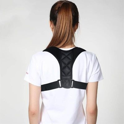 1 Pcs Adjustable Posture Correct Back Brace Spine Shoulder Lumbar Support Belt Posture Corrector Prevents Slouching