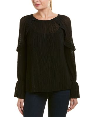 Michael Stars Frill Sleeve Top