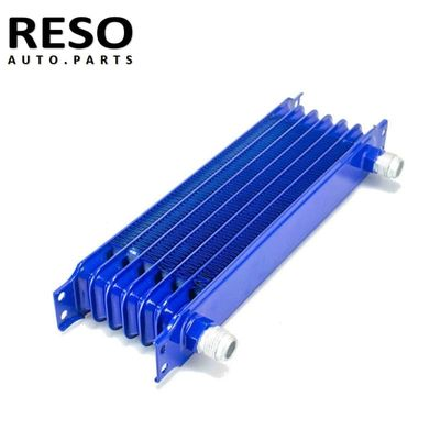 Oil Cooler Universal 7 Row AN10 Engine Transmission Trust Oil Cooler 10AN 10 Blue