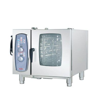 6*1/1GN Capacity Gas Oven Commercial Large Capacity Roast Chicken Pizza Bread Steamed Rice Stove Special Equipment