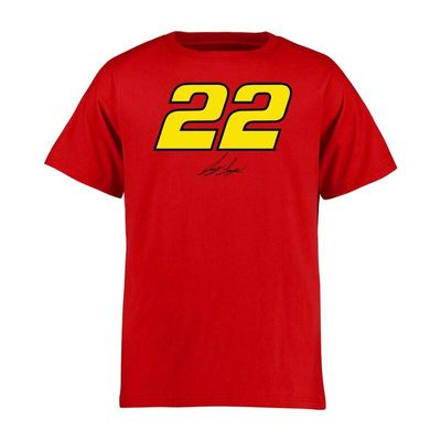 Joey Logano Youth Reverb T-Shirt - Red