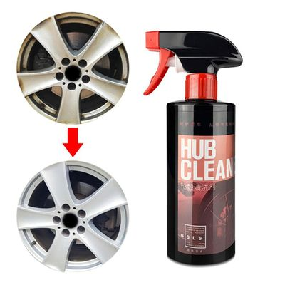 Professional 500ML Car Wheel Cleaner Steel Ring Stainless Steel Glazing Decontamination Rust Remove Iron Powder