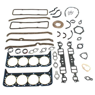 Gasket Seal Set Car accessories auto product Fit for Chevy 327 283 307 350 383 V8 Engines Complete Overhaul Head Intake Exhaust