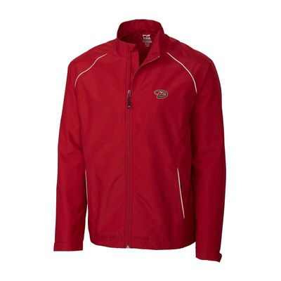 Arizona Diamondbacks Cutter & Buck Beacon WeatherTec Full-Zip Jacket - Red