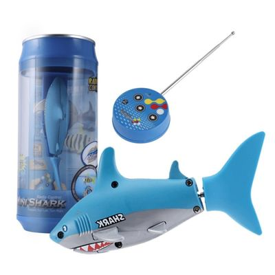 Mini RC Submarine 4 CH Remote Small Sharks With USB Remote Control Toy Fish Boat Best Christmas Gift for Children Kids