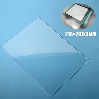 1pc About 210*297*3mm Transparent Acrylic Cutting Plate Embossing Ebosser Compatible Transparent Pads Board Mat