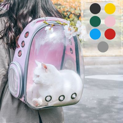 Cat Backpack Travel Dog Pet Carrier Bags Girls Shoulder Bag Space Transparent Cat Backpack for Small Dogs Cats Pet Bag Carrying