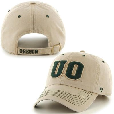 Oregon Ducks '47 Brand Gibbs Clean Up Adjustable Hat - Stone