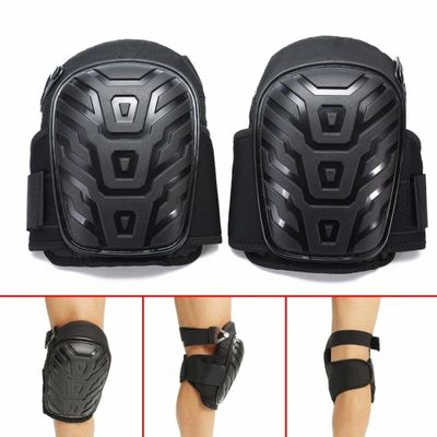 Motorcycle Leg Cover Knee Pads With Adjustable Straps Safe EVA Gel Cushion PVC Shell for Knee Protection Knee Pads For Work NEW