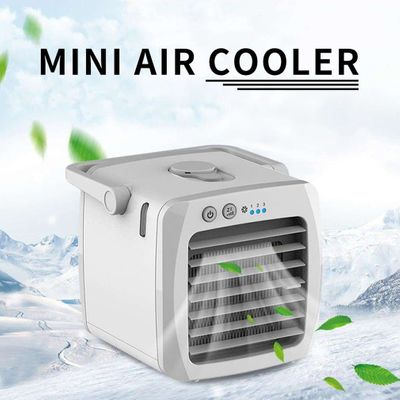 Mini Portable Air Conditioner Fan Desk USB Air Fan Cooler Arctic Cooling Humidifier Mute Silent Personal Space For Office Home