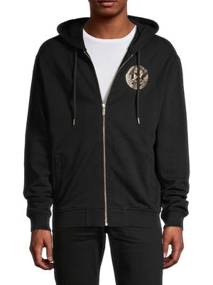 Versace Jeans Couture Cotton Hooded Jacket