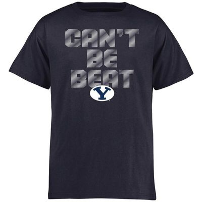 BYU Cougars Youth Can't Be Beat T-Shirt - Navy