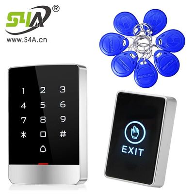 Stand Alone RFID Access Control Touch Metal Keypad For Door Lock System