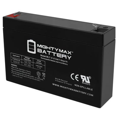 6V 7Ah Replacement Battery for Hello Kitty Sports Car + 6V Charger