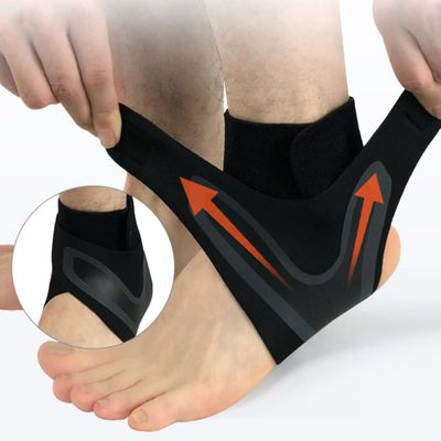 1 PCS Ankle Support Brace Elasticity Free Adjustment Protection Foot Bandage Sprain Prevention Sport Fitness Guard Band