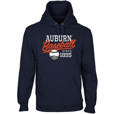 Auburn Tigers Ballpark Pullover Hoodie - Navy Blue