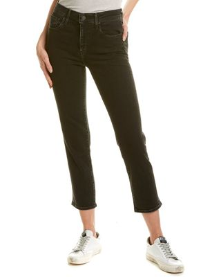 Levi's 724 Black High-Rise Straight Leg Jean