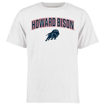 Howard Bison Proud Mascot T-Shirt - White