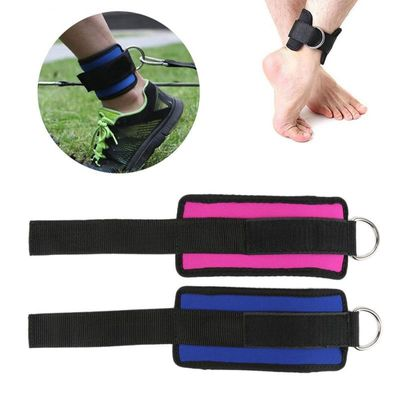 D-ring Ankle Anchor Strap Belt Multi Gym Cable Attachment Thigh Leg Pulley StrapD-ring Ankle Anchor Strap Belt Multi Gym