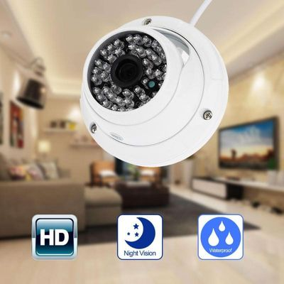 3.6mm CCTV Home Security Camera HD 1200TVL 960H 48IR IR-CUT D/N Night Vision Armour Dome camera For Outdoor/Indoor Waterproof