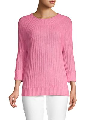 Cashmere Saks Fifth Avenue Roundneck Cashmere Sweater