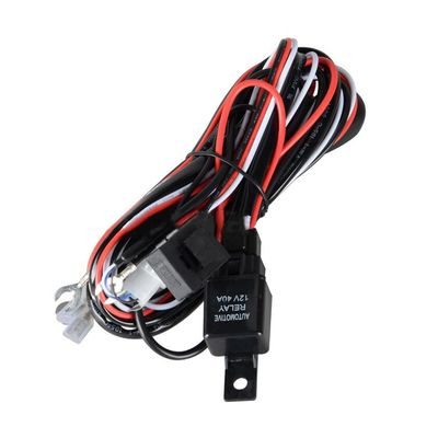 plug adapterAutomotive Relay Wiring Harness Kit 12V for LED Work Light Wire Bar Power Switch for Off Road 40A power plug adapter