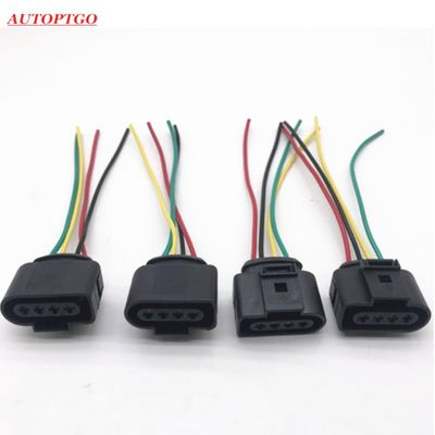 1J0973724 4B0973724 VAG 4 Pins Ignition Coil Connector Wire Plug Repairment For Audi A4 A6 For Volkswagen Passat Bora