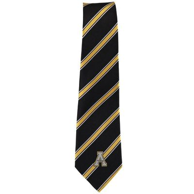 Appalachian State Mountaineers Woven Poly Striped Tie