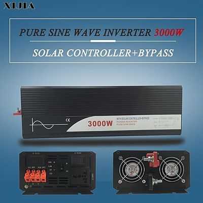 3000W Pure Sine Wave Inverter With Solar Controller Bypass
