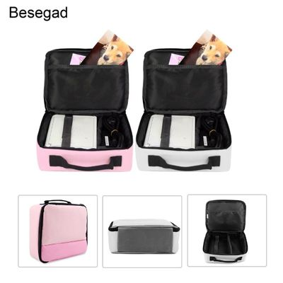 Besegad Carry Storage Protector Bag Protection Handbag Case for Canon Selphy CP1200 CP910 HITI Prinhome P310W Photo Printer